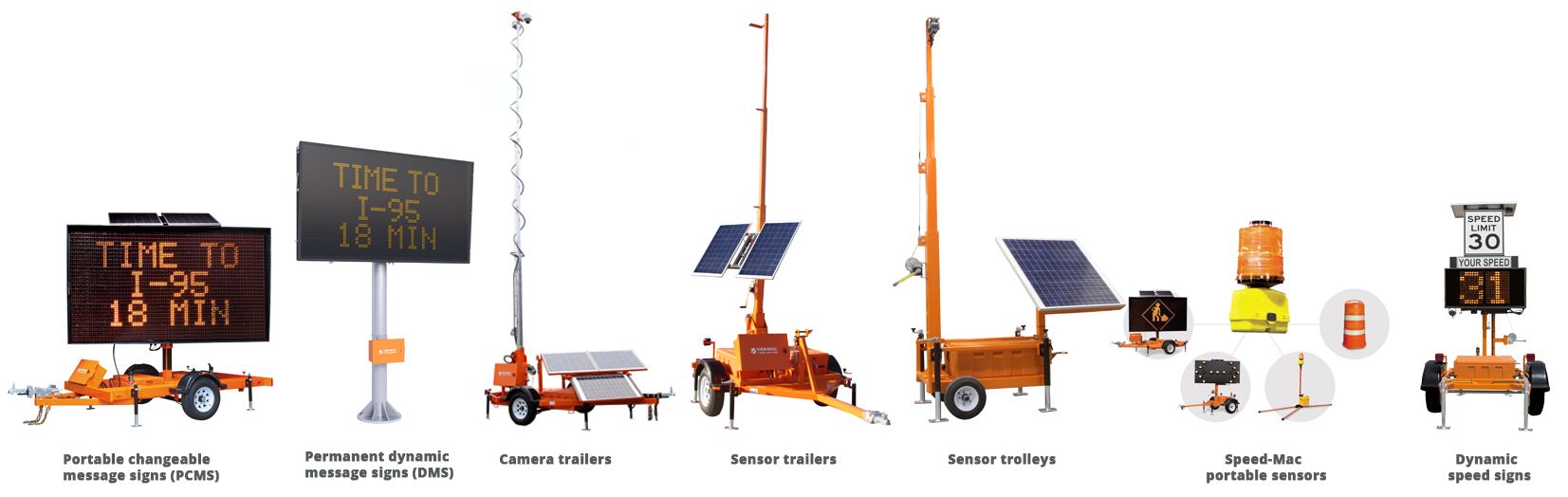 SMART WORK ZONE EQUIPMENT FROM VER-MAC